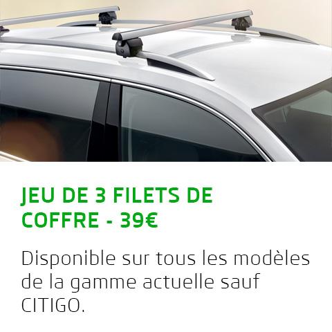 JEU DE 3 FILETS DE COFFRE